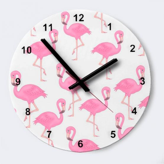 "Часы ""Фламинго"""