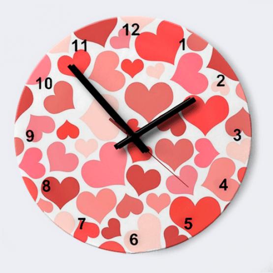 """Часы """"Сердца"""""""