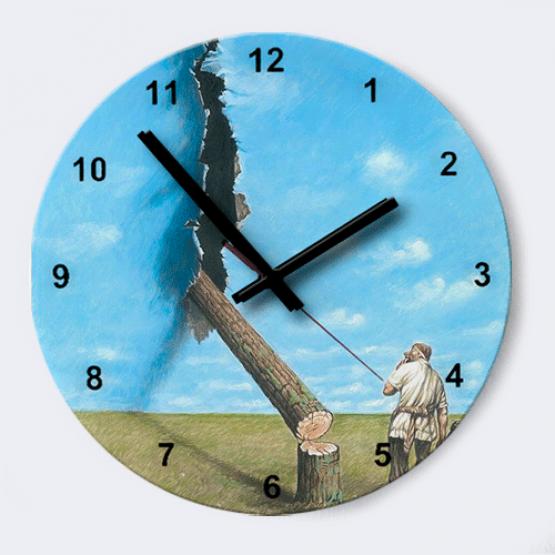 """Часы """"Упс"""""""