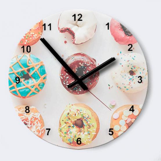 """Часы """"Пончики"""""""