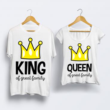 """Футболка """"King & Queen"""""""