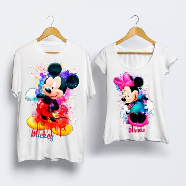 "Футболка ""Mickey & Minnie"""