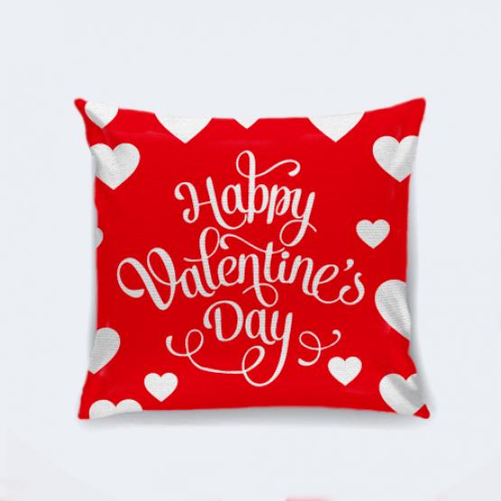"""Подушка """"Happy Valentine's Day"""""""