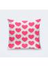 """Подушка """" Розовые сердечки"""""""
