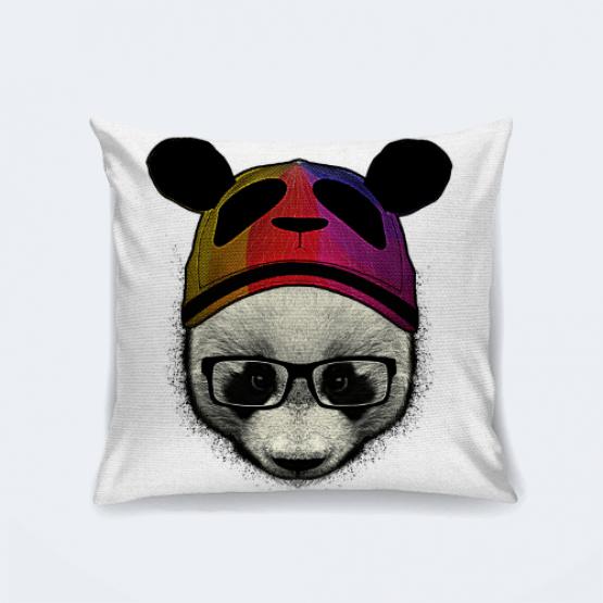 "Подушка ""Стильная панда"""