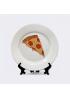 """Тарелка """"Кусочек пиццы"""""""